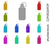 the sports water bottle  flask...