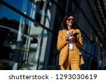 Young Smiling Business Woman In ...