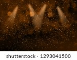 orange cute glossy abstract... | Shutterstock . vector #1293041500