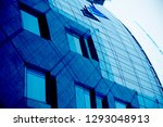 collage photo of office...   Shutterstock . vector #1293048913