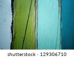 grunge colorful wall. | Shutterstock . vector #129306710