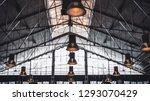 indoor view from the bottom... | Shutterstock . vector #1293070429
