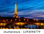 paris france april 26 2018... | Shutterstock . vector #1293098779