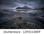 skagsanden  lofoten  norway... | Shutterstock . vector #1293113809