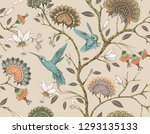 vector seamless pattern with... | Shutterstock .eps vector #1293135133