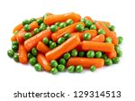 Carrots With Green Peas