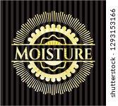 moisture gold shiny emblem   Shutterstock .eps vector #1293153166