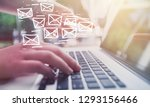 email marketing and newsletter... | Shutterstock . vector #1293156466