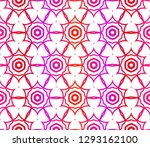 red vector layout with floral... | Shutterstock .eps vector #1293162100