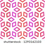 red vector layout with floral... | Shutterstock .eps vector #1293162103