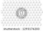 dead man in his coffin icon... | Shutterstock .eps vector #1293176203