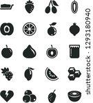 solid black vector icon set  ... | Shutterstock .eps vector #1293180940