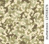vector camouflage pattern | Shutterstock .eps vector #129318176