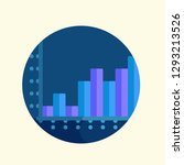 infographic icon vector graphic ... | Shutterstock .eps vector #1293213526