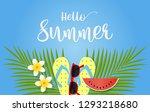 summer sale concept for... | Shutterstock .eps vector #1293218680