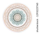 concept decorative plates with... | Shutterstock .eps vector #1293225760