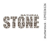 stone word textured by old... | Shutterstock .eps vector #1293226126