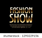 vector stylish emblem fashion... | Shutterstock .eps vector #1293229156