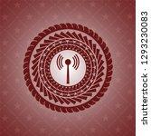 antenna signal icon inside...   Shutterstock .eps vector #1293230083