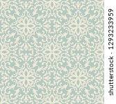 seamless damask pattern. ...   Shutterstock .eps vector #1293233959