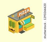 pizzeria. italian food design... | Shutterstock .eps vector #1293266620