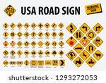 Usa Road Sign   Warning Sign....