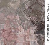 abstract random shapes. 2d... | Shutterstock . vector #1293275173