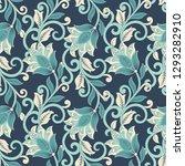 floral vector illustration in...   Shutterstock .eps vector #1293282910