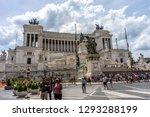 rome  italy   23 june 2018 ... | Shutterstock . vector #1293288199