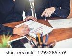 investors group. business...   Shutterstock . vector #1293289759