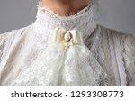Fragment Of A Victorian Dress...
