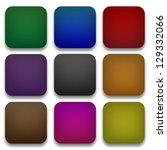 blank web button in various... | Shutterstock . vector #129332066