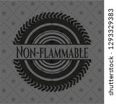 non flammable dark emblem | Shutterstock .eps vector #1293329383