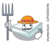 farmer mattress isolated on the ... | Shutterstock .eps vector #1293336196