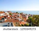 destination scenics lisbon city ...   Shutterstock . vector #1293349273