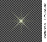 glow light effect. star burst... | Shutterstock .eps vector #1293356200