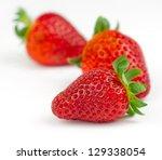 strawberrys - stock photo