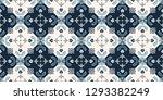 talavera pattern.  indian... | Shutterstock .eps vector #1293382249