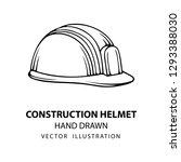 safety helmet. safety helmet... | Shutterstock .eps vector #1293388030