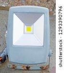 the old outdoor waterproof led... | Shutterstock . vector #1293390796