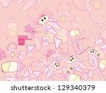 baby | Shutterstock .eps vector #129340379