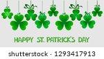 saint patrick's day banner. for ... | Shutterstock . vector #1293417913
