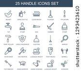 handle icons. trendy 25 handle... | Shutterstock .eps vector #1293423610