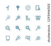 editable 16 explore icons for...   Shutterstock .eps vector #1293446503