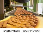 bakery production line or with... | Shutterstock . vector #1293449920