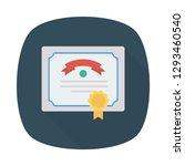 degree  certificate   award  | Shutterstock .eps vector #1293460540