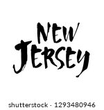 us state name  new jersey ... | Shutterstock .eps vector #1293480946