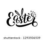 happy easter lettering logo... | Shutterstock .eps vector #1293506539