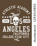 american college scorpion team...   Shutterstock .eps vector #1293519853