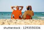 Sunbathing On Orange Chairs...
